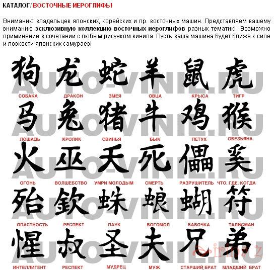 Какие Иероглифы на японском Что означает Лучшие Дракон Как сделать временную татуировку в домашних