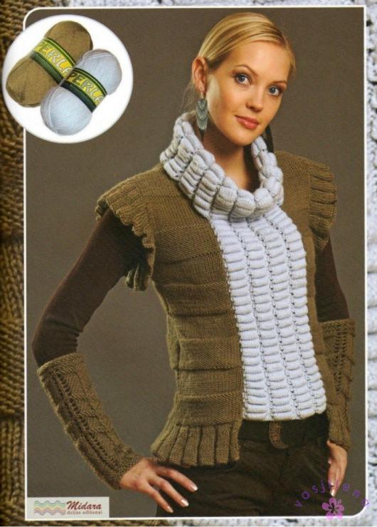 Оригинальные модели вязания женщинам