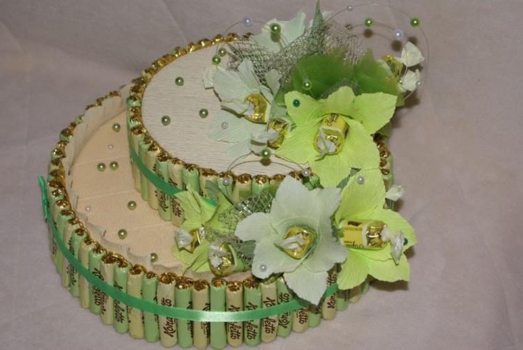 Поделки своими руками торты из конфет