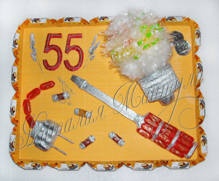 Креативный подарок электрику 58