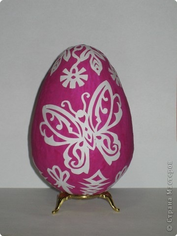Трафарет на пасхальные яйца своими руками
