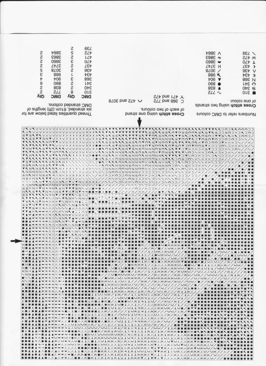 Схемы вышивки крестом херитаж 50