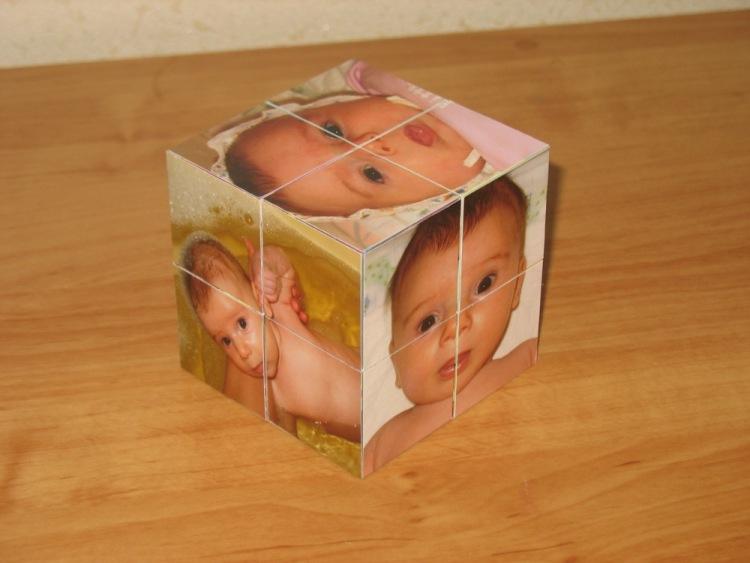 Кубики из фотографий своими руками 12