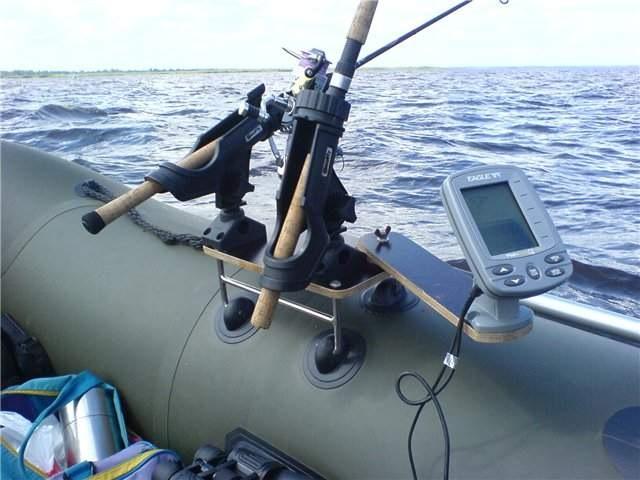 самый удобный эхолот на лодке