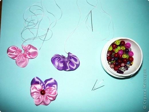 Схемы с фото по вышивке с лентами