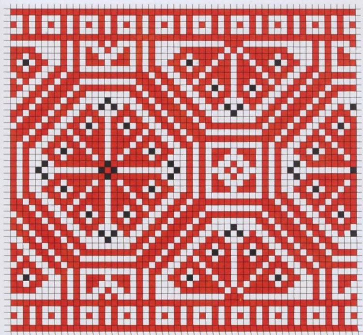 Вышивка еврейский орнамент 66