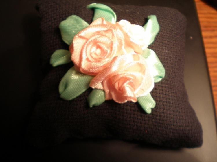 Как сделать саше с розой 6