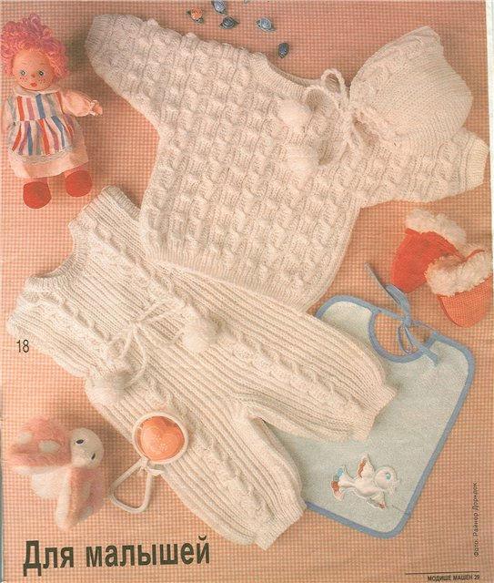 Вязание для новорожденных от 0 до года