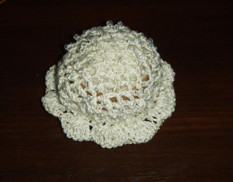 Вязание крючком сеточки для волос