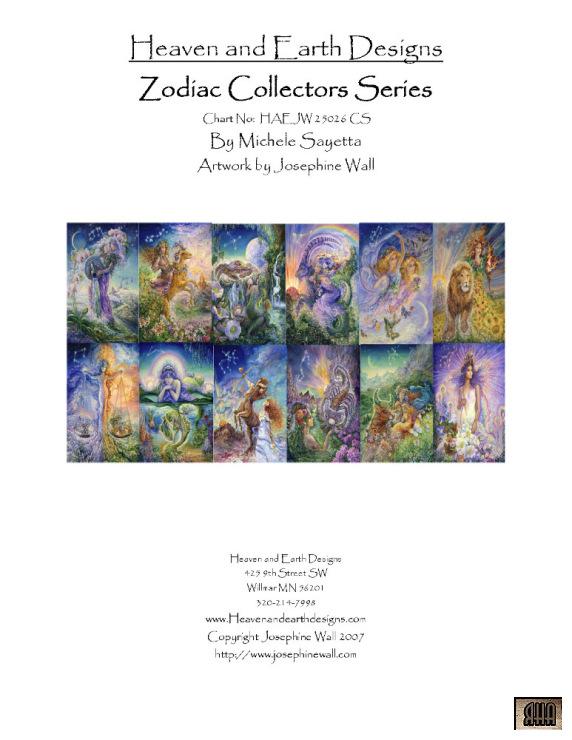 Схемы вышивок от heaven and earth designs