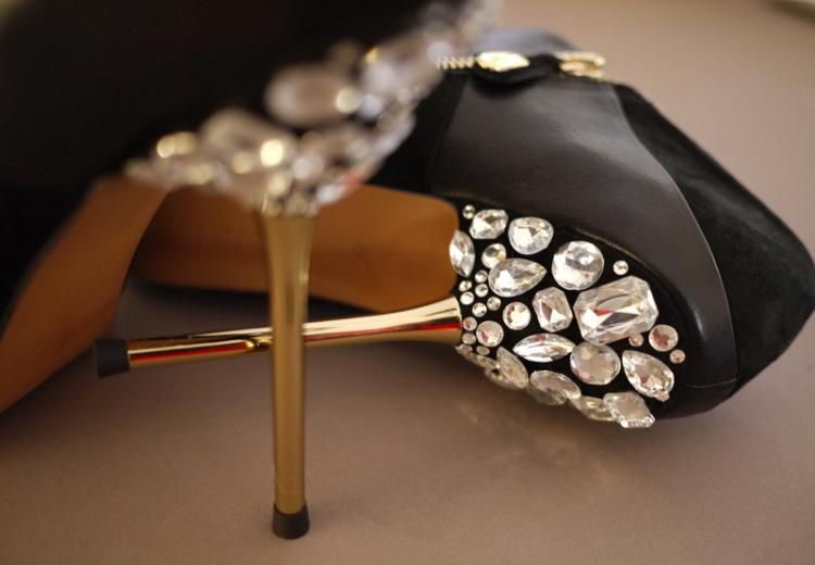 Как украсить свадебные туфли фото