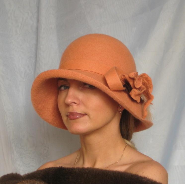 Мастер-класс по валянию шляпы