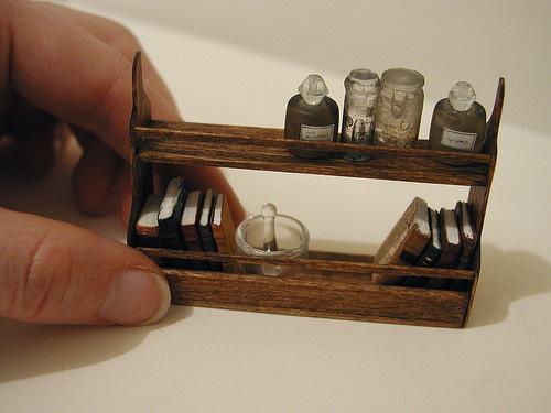 Мебель для миниатюры своими руками 460