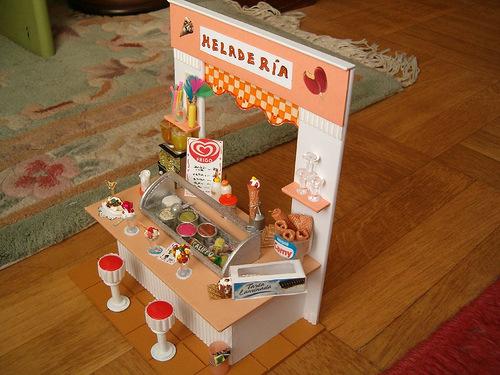 Как сделать еду из бумаги куклами 118