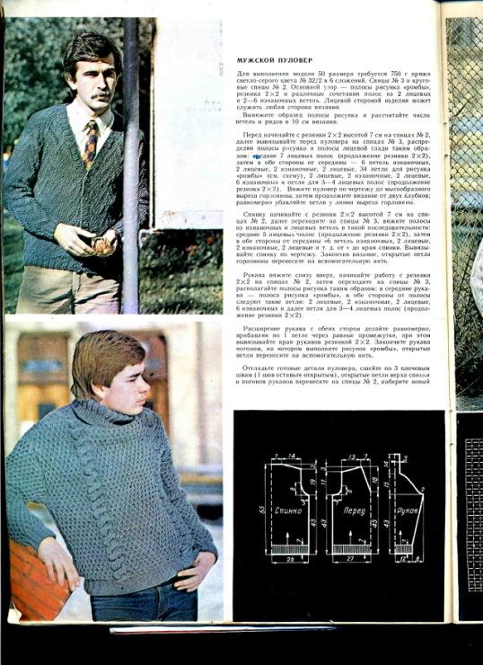 Журналы вязание ильина 1984 47