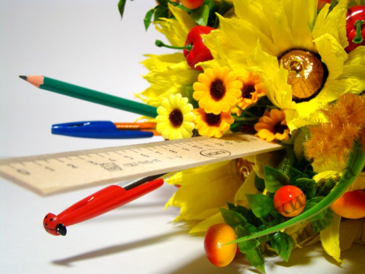 Букет из цветов своими руками для учителя 848