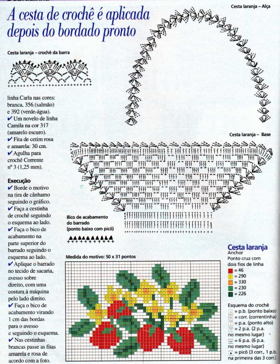 Вязаные цветы в вазе крючком схемы с описанием 155
