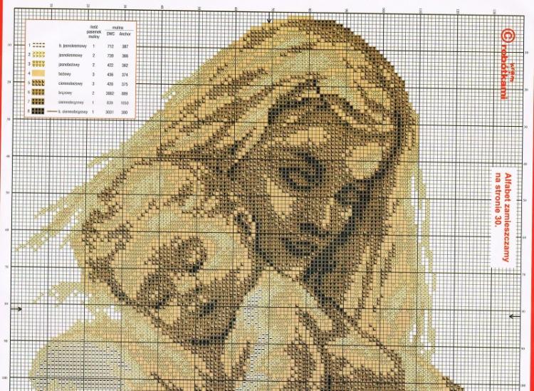Вышивка крестом схемы по фото i