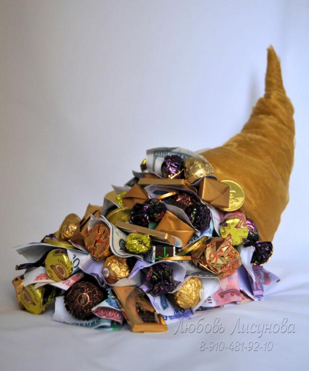 Букет из конфет мужчине как сделать 522