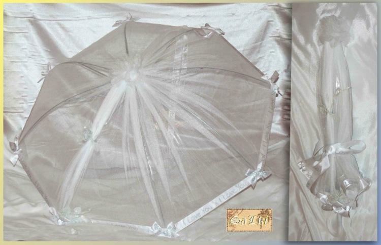 Свадебный зонт своими руками 129