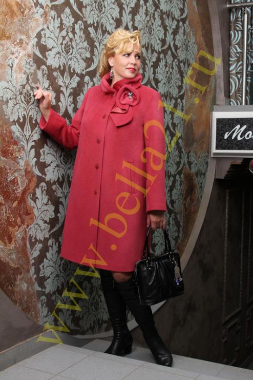 фото красивых пальто больших размеров