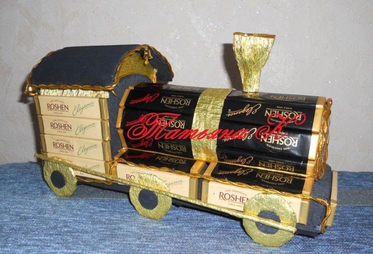Поделки к дню железнодорожника