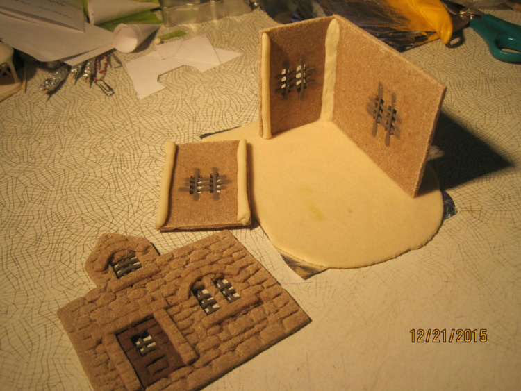 Домики из соленого теста своими руками пошаговая инструкция