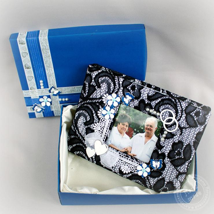 Подарки своими руками на сапфировую свадьбу 50