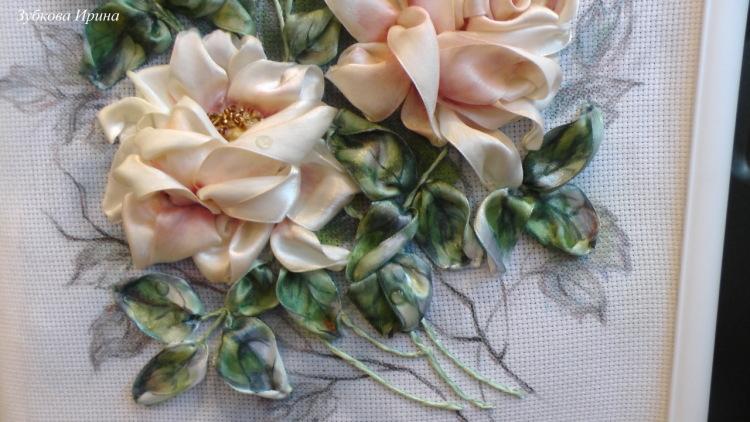 Ирина кириленко вышивка лентами 68