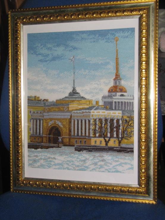 Санкт-петербург адмиралтейская набережная схема вышивки 39