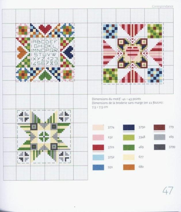 Схемы маячков на ножницы вышивка 706