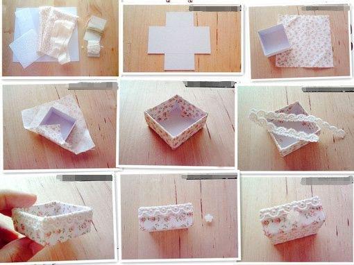 Из чего сделать красивую коробочку для мелочей своими руками