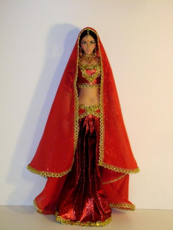 Индийский костюм в домашних условиях