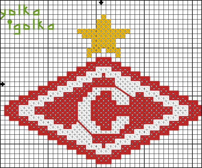 Схема для вышивки эмблемы 791